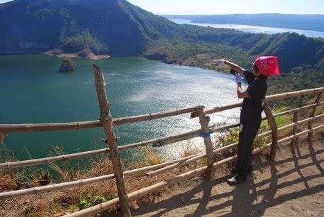 cảnh chiều trên đảo Miyakejima