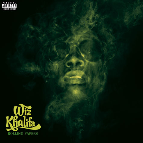 "Album Cover: Wiz Khalifa ""Rolling Papers"""