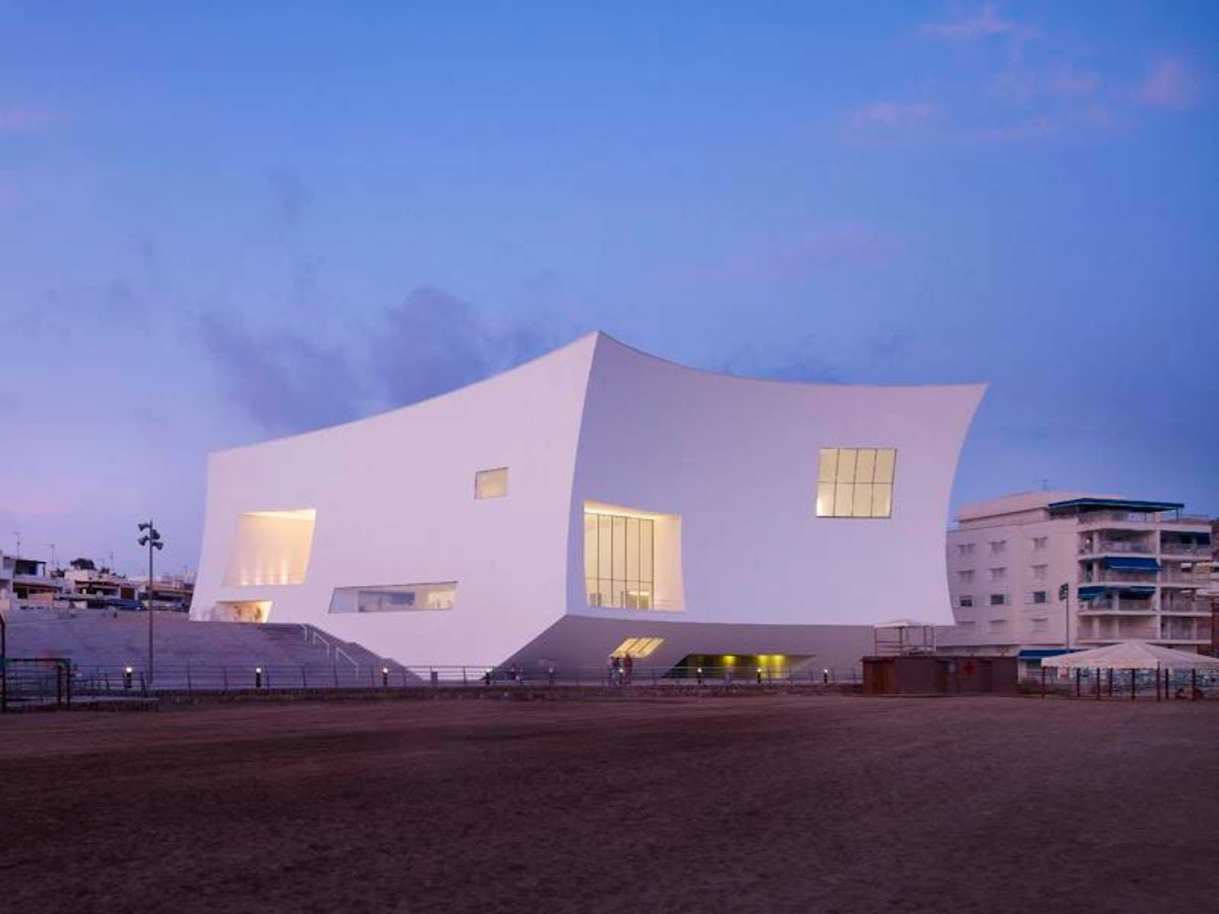 Águilas, Murcia, Spagna: Auditorium And Congress Palace Infanta DoÑA Elena by Estudio Barozzi Veiga