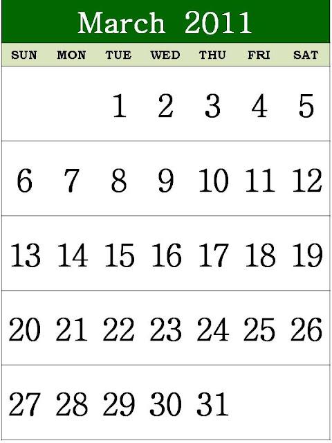 monthly calendar 2011. Free Printable Calendar 2011