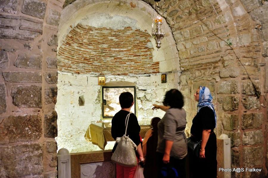 Предел Адама, Храм Гроба Господня. Экскурсия по Иерусалиму. Гид в Израиле Светлана Фиалкова.
