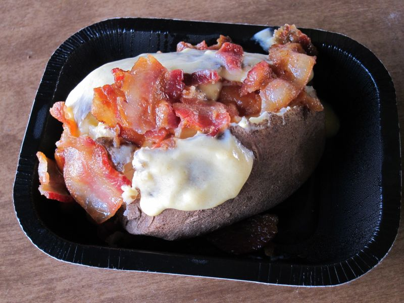 Review Wendy S Bacon And Cheese Baked Potato