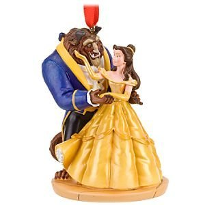 awesome christmas ornaments and decoration - Disney Beauty And The Beast Christmas Decorations