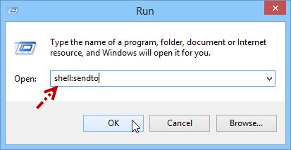 เพิ่ม Icon ShortCut ให้กับเมนู Send to บนวินโดวส์ 8 ง่ายๆสไตล์นาย C-GRu Send2w8-03