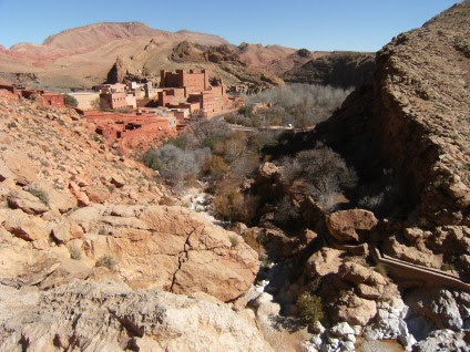 Ait Youl, Oued Dades, Atlas-Gebirge, Marokko
