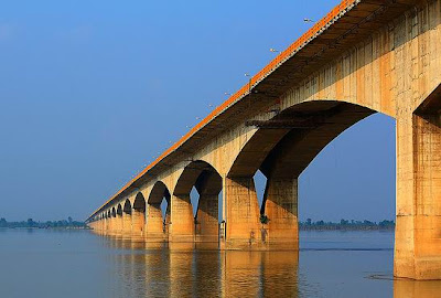 Mahatma Gandhi Setu Longest River Bridge in India