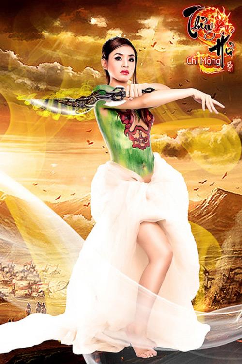 Thủy Hử Chi Mộng tung cosplay chào sân làng game Việt 2