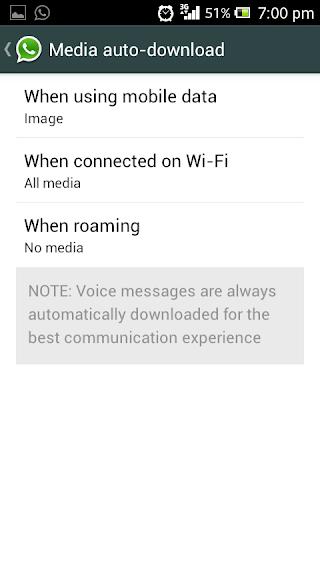 agar pesan gambar tidak secara otomatis di download oleh whatsapp