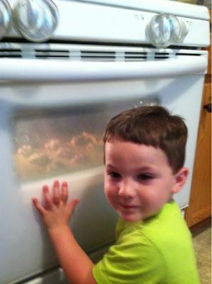 montessori kids in the kitchen