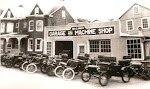 George Green Garage at York and Main Streets, c. 1920