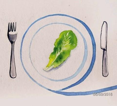 Antara diet dan jimat ketika makan