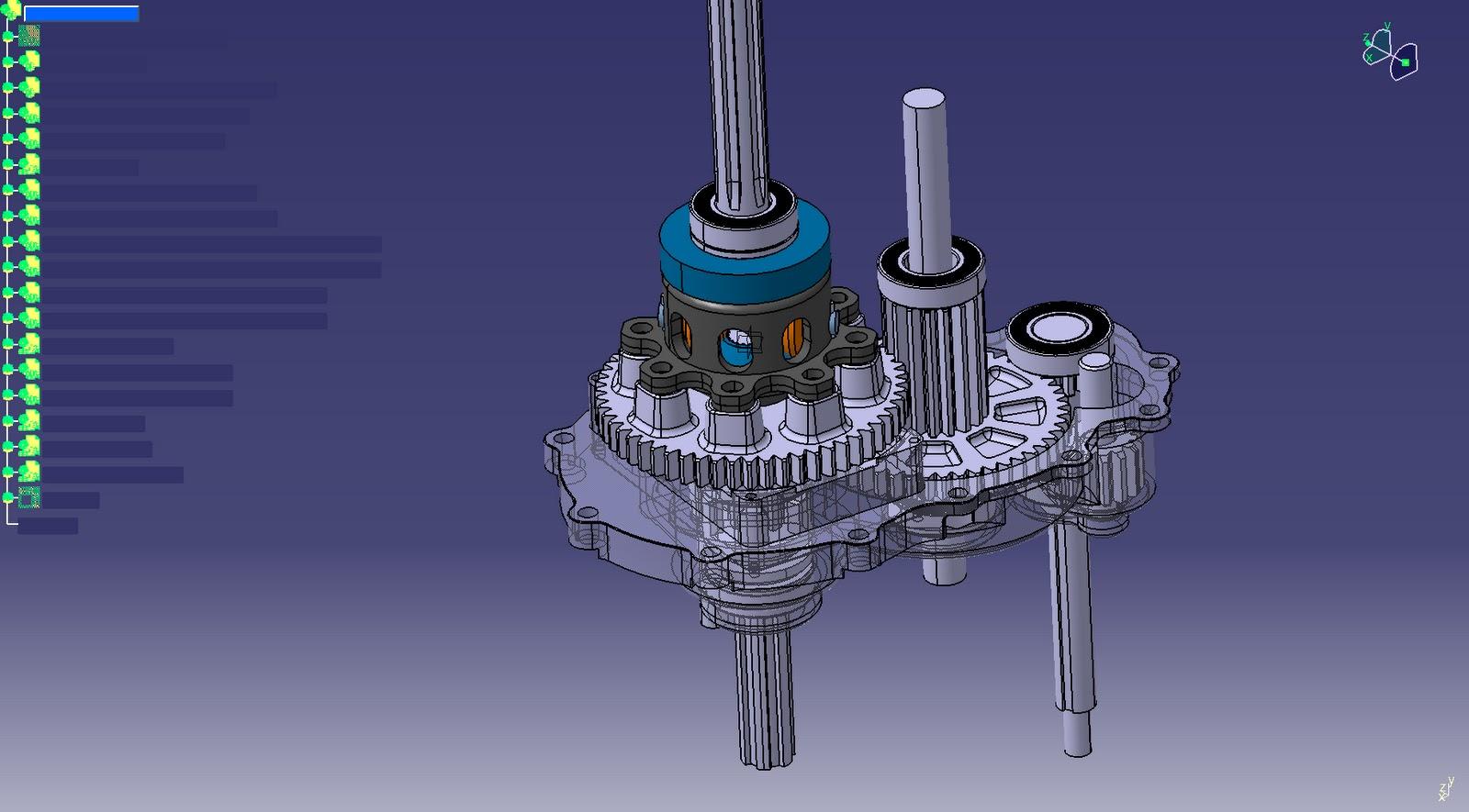Wwu Baja Sae Gearbox Design Complete