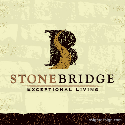 StoneBridge Homes logo design Wichita area