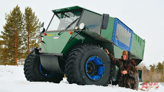 Trom 8 Swamp Buggy - All terrain Ofroad truck