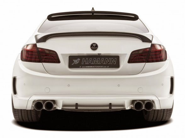2013 Hamann BMW M5 Mi5Sion - Rear