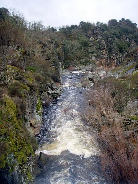 Las tres presas en trail