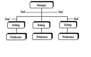 Contoh srtuktur organisasi fungsiaonal