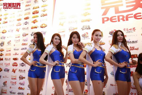 Ngắm dàn mỹ nữ của Perfect World tại ChinaJoy 2013 4