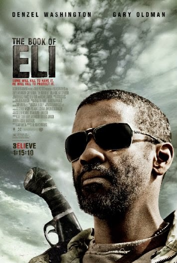Poster Of English Movie The Book of Eli (2010) Free Download Full New Hollywood Movie Watch Online At Alldownloads4u.Com