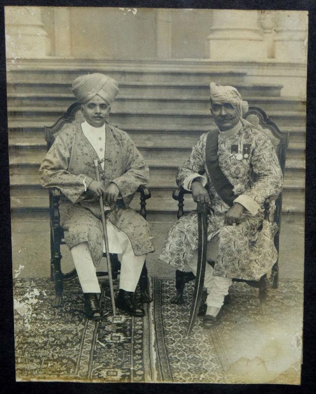 Maharaja of Mysore and Lokendra Singh