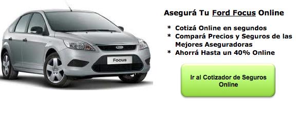 Seguros de Auto para Ford Focus
