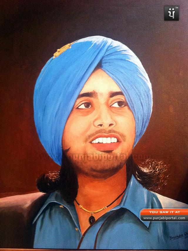 Satinder Sartaj painting drawing