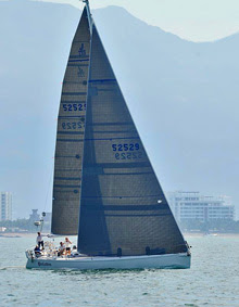 J/133 PALADIN sailing in Puerto Vallarta- winning Vallarta Cup