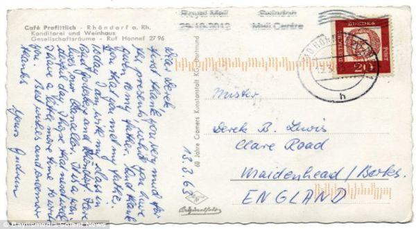 Setelah 49 Tahun Kartu Pos Ini Nyampai Ke Tujuan