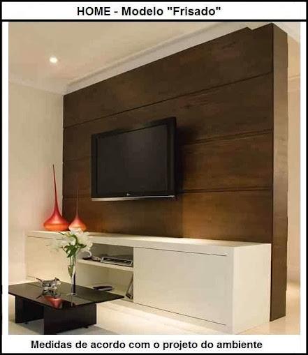 painel de tv sob medida