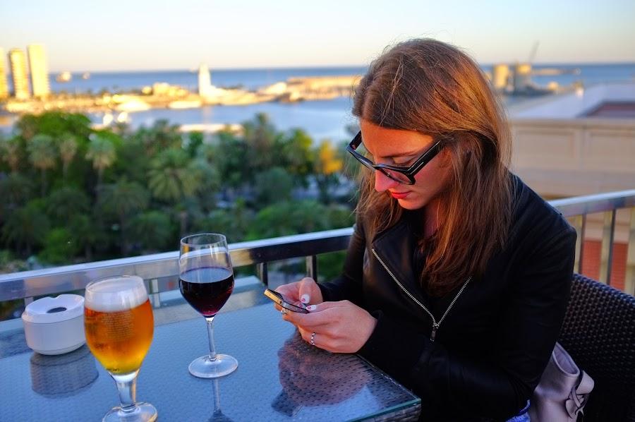 malaga AC Palacio rooftop bar