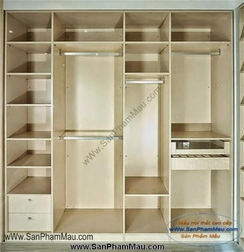 Các mẫu tủ quần áo bằng gỗ công nghiệp-7