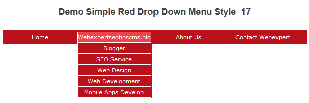 how to add link to drop down menu in html