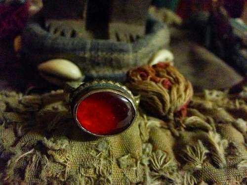 Antique Protective And Seductive Male Fallen Angel Power Ring By Wajitzumagikshop