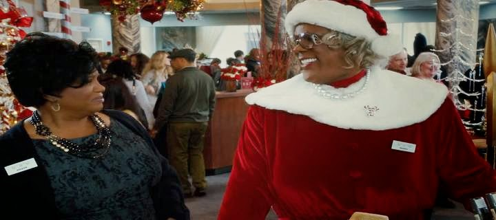 Screen Shot Of Hollywood Movie Tyler Perry's A Madea Christmas (2013) Download And Watch Online Free at Alldownloads4u.Com