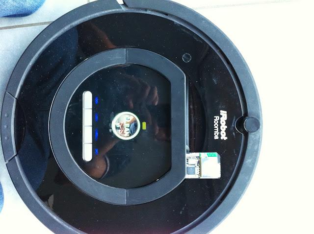 8 A relire : test de la carte RooWifi pour aspirateur Roomba