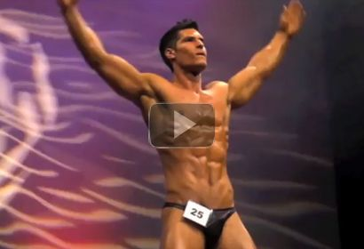 Awesome Natural Bodybuilder Jamie