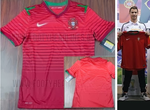 Portugal Kit 2014 FIFA World Cup