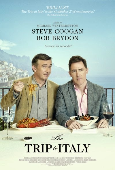 Poster Of English Movie The Trip to Italy (2014) Free Download Full New Hollywood Movie Watch Online At Alldownloads4u.Com