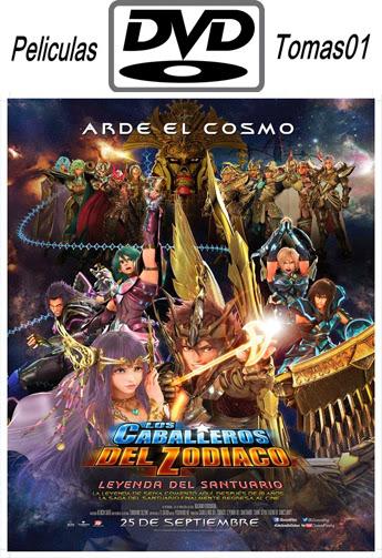Los Caballeros del Zodiaco: La leyenda del santuario (2014) DVDRip