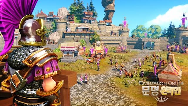 Cận cảnh gameplay của Civilization Online 14