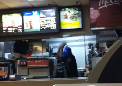 Slow-Motion: Was the McDonald's beating self-defense?