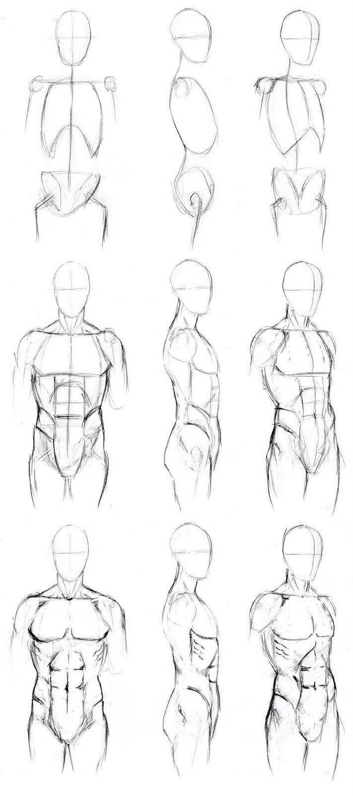 Learning to draw: Human Body