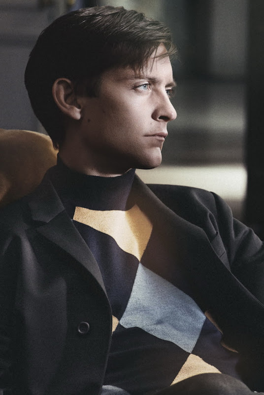 Tobey Maguire by David Sims for Prada, F/W 2011-12