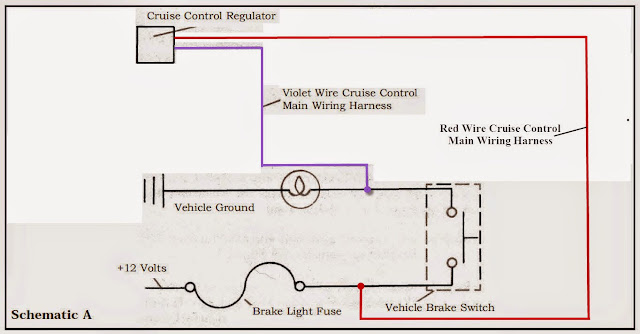 Tiger 800 XC Electronic Cruise Control Install – Rostra Cruise Control Wiring Diagram