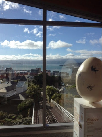 Cable car in Kelburn, Wellington, New Zealand