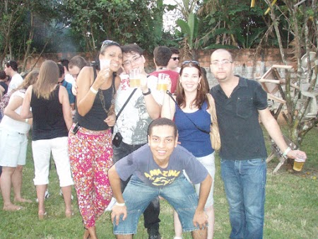 Aline, eu, Bru, Michael & Henrique
