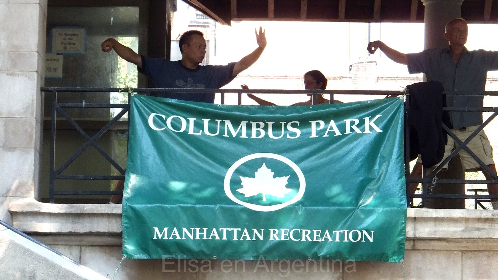 Columbus Park, Chinatown, Manhattan