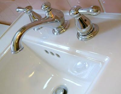 upgrade bathroom sink faucet