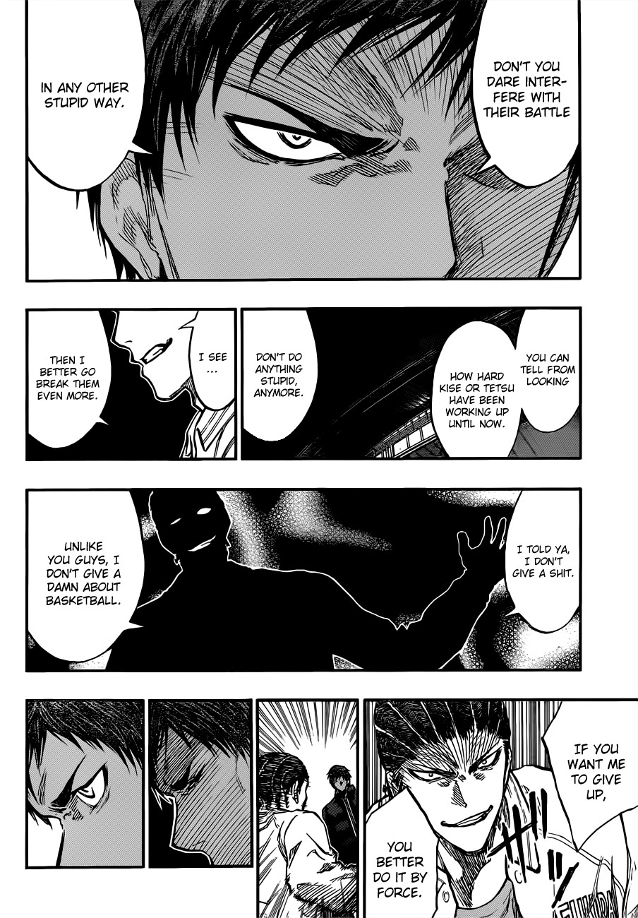 Kuroko no Basket Manga Chapter 173 - Image 16