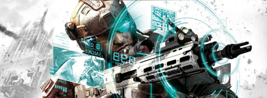 Tom Clancy future soldier facebook cover